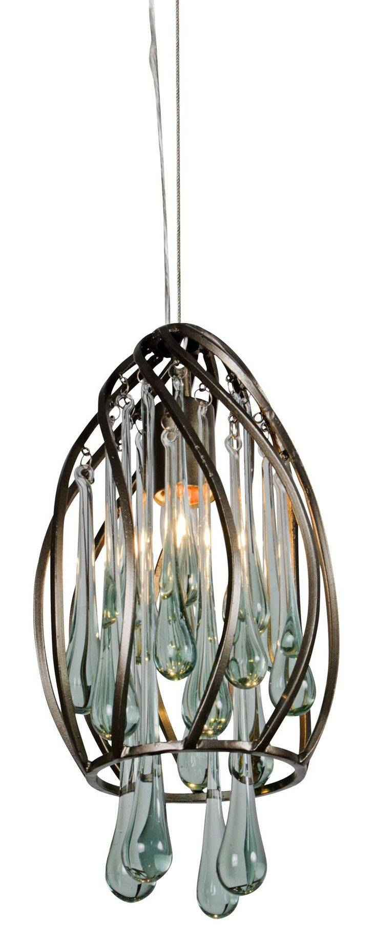 38 Best Lighting Images On Pinterest | Chandeliers, Light Fixtures Within Recycled Glass Lights Fixtures (Photo 6 of 15)