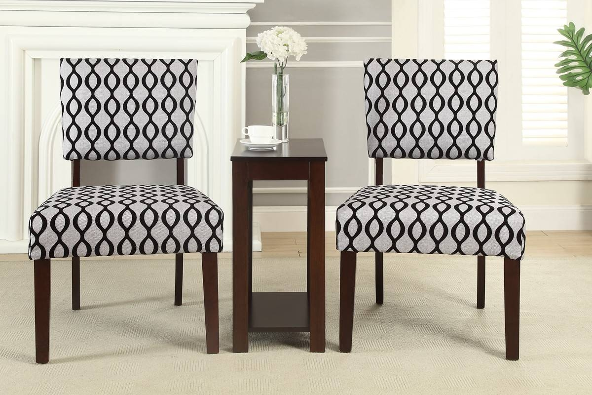 3Pcs Accent Chairs And Table Set Lowest Price   Sofa, Sectional Within Tv Cabinets And Coffee Table Sets (Photo 15 of 15)