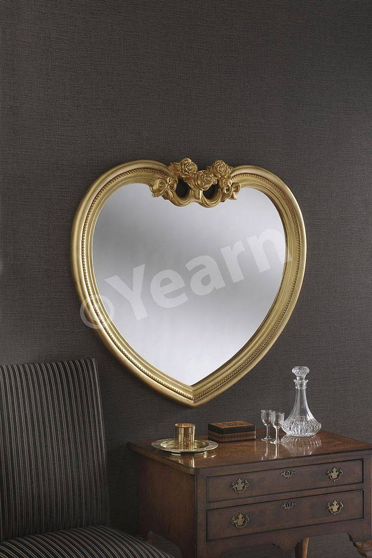 40 Best Mirrors Images On Pinterest | Wall Mirrors, Round Mirrors in Gold Heart Mirrors (Image 1 of 15)