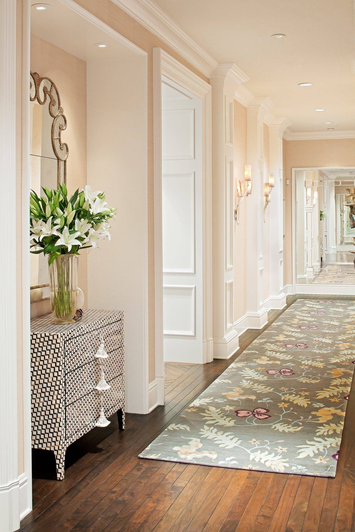 5 Ways To Decorate A Narrow Hallway - Shoproomideas with Long Mirrors for Hallway (Image 1 of 15)