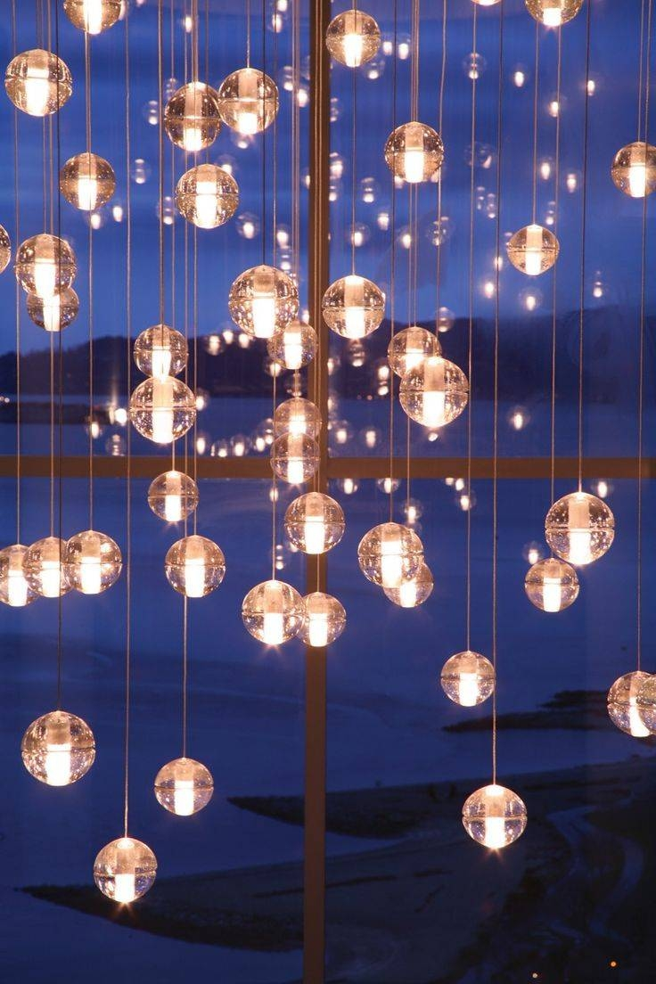 526 Best Non Traditional Candélabre Images On Pinterest | Lighting Intended For Glass Orb Pendant Lights (Photo 10 of 15)