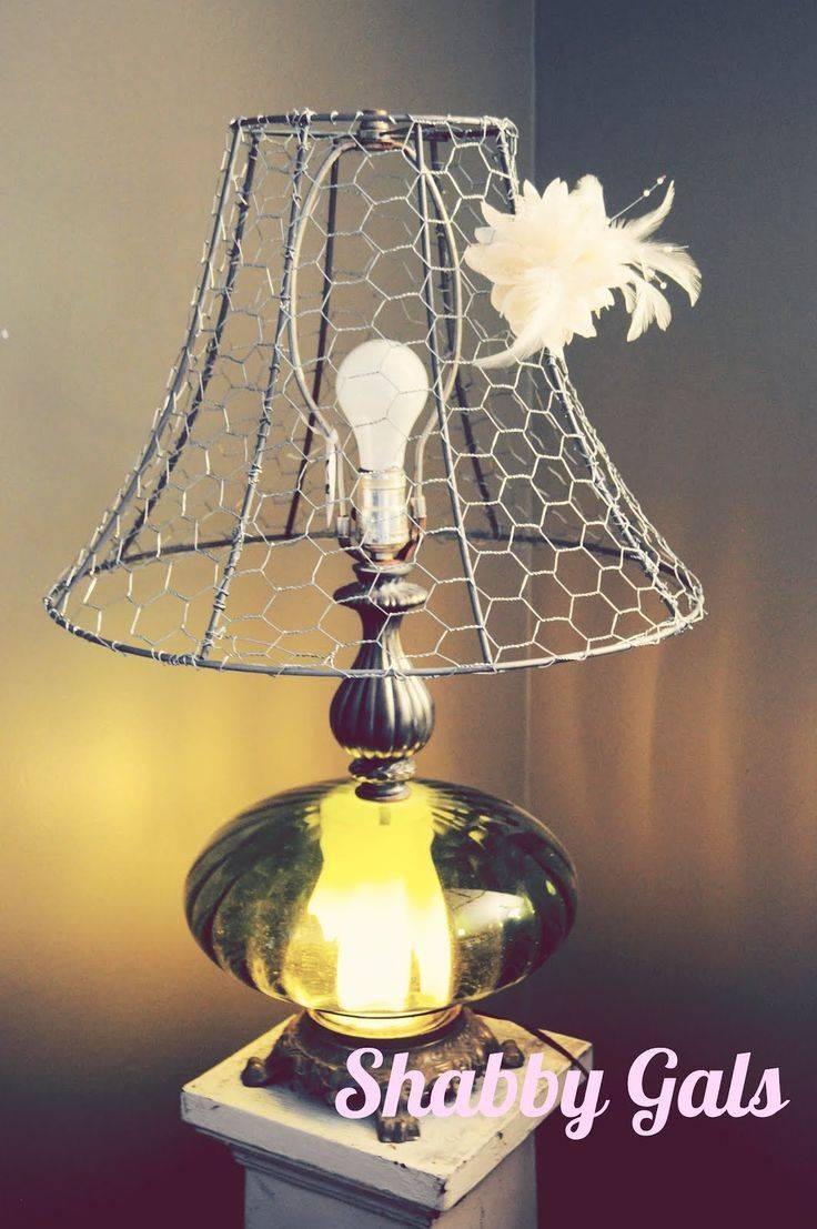 58 Best Chicken Wire Obsession Images On Pinterest | Chicken Wire Throughout Chicken Wire Pendant Lights (View 4 of 15)