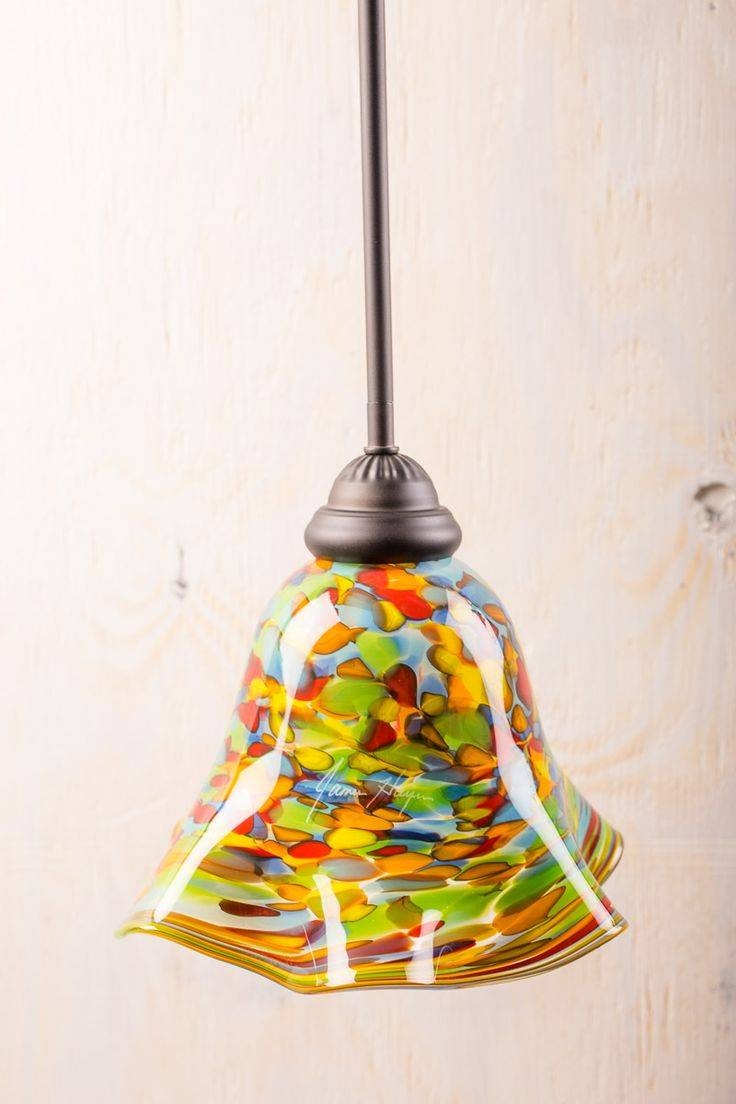 59 Best Light Me Up Images On Pinterest   Diy, Mason Jar Lighting In Diy Stained Glass Pendant Lights (Photo 3 of 15)