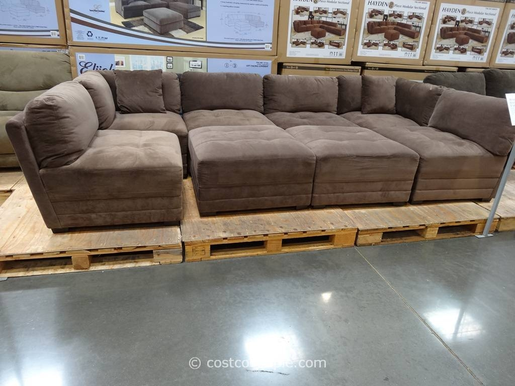 6 Piece Modular Sectional Sofa 40 With 6 Piece Modular Sectional with regard to 6 Piece Sectional Sofas Couches (Image 1 of 15)