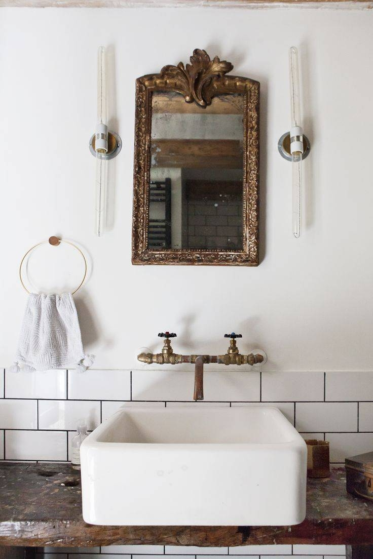 61 Best Antique Bathroom Images On Pinterest | Home, Room And in Antique Bathroom Mirrors (Image 1 of 15)