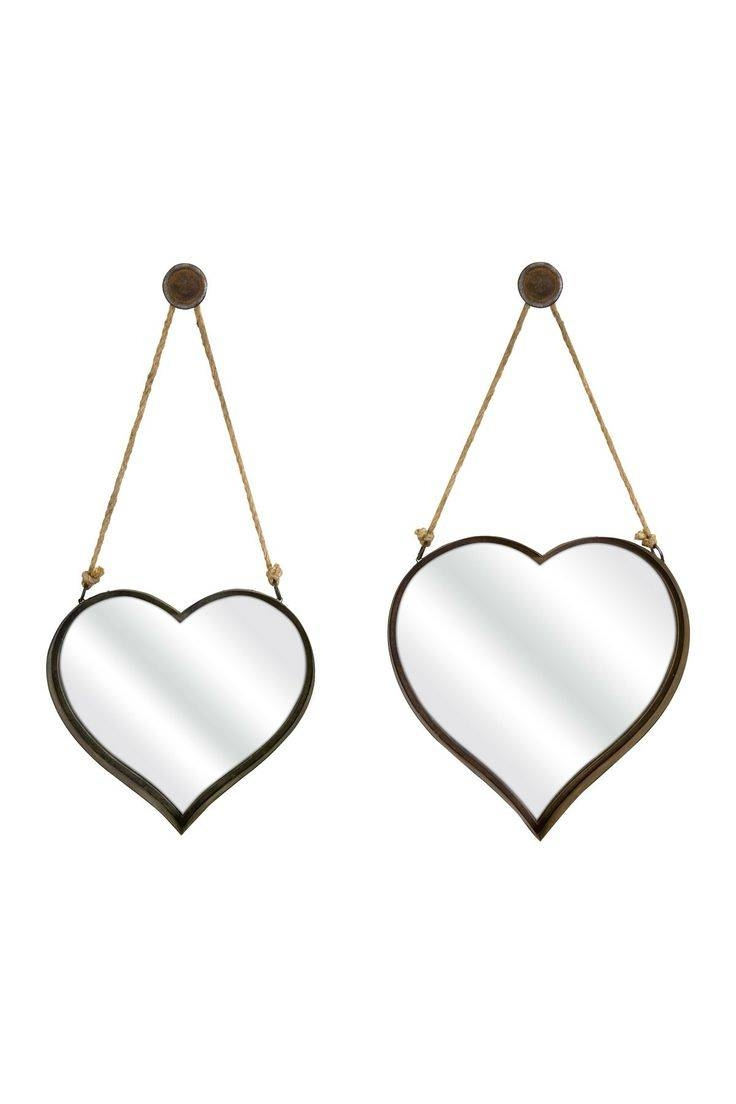 676 Best Mirror Images On Pinterest | Mirror Mirror, Decorative within Heart Shaped Mirrors For Walls (Image 1 of 15)