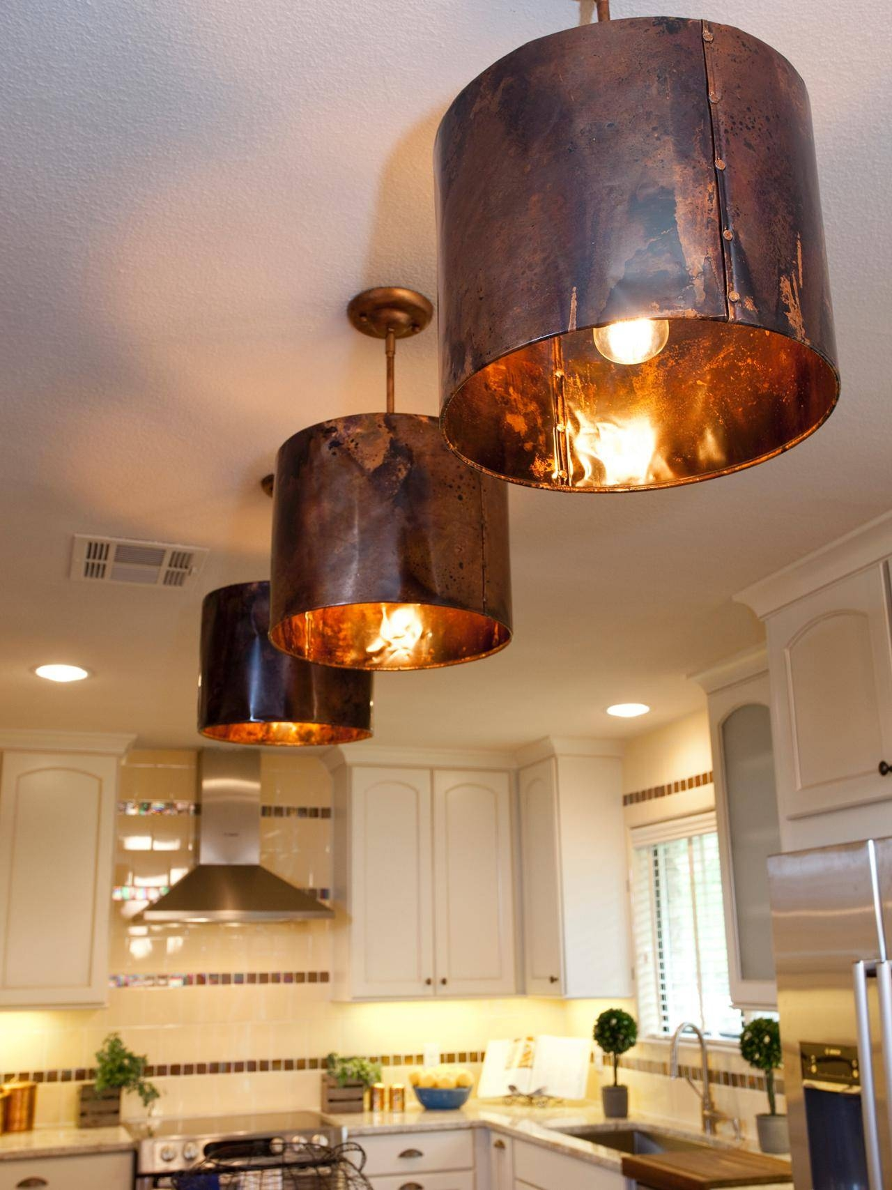 7 Ideas For Decorating With Copper - Pro Home Stores throughout Apothecary Pendant Lights (Image 4 of 15)