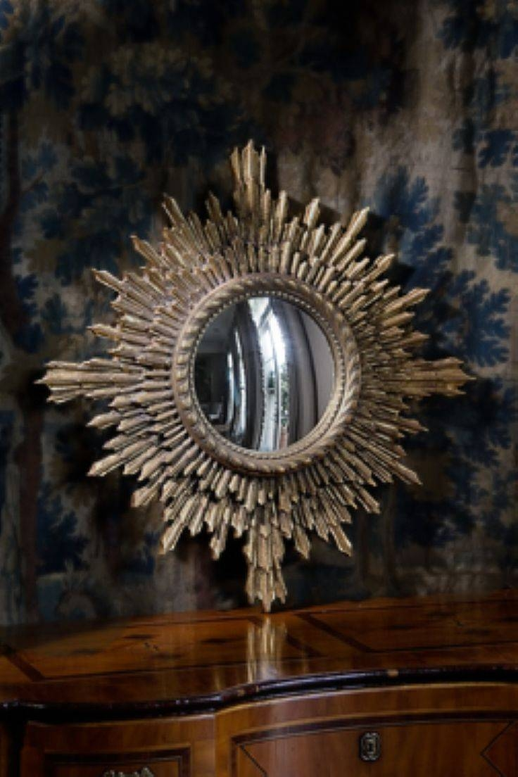 76 Best Sunburst Mirror Images On Pinterest | Sunburst Mirror, Sun With Regard To Starburst Convex Mirrors (View 1 of 15)