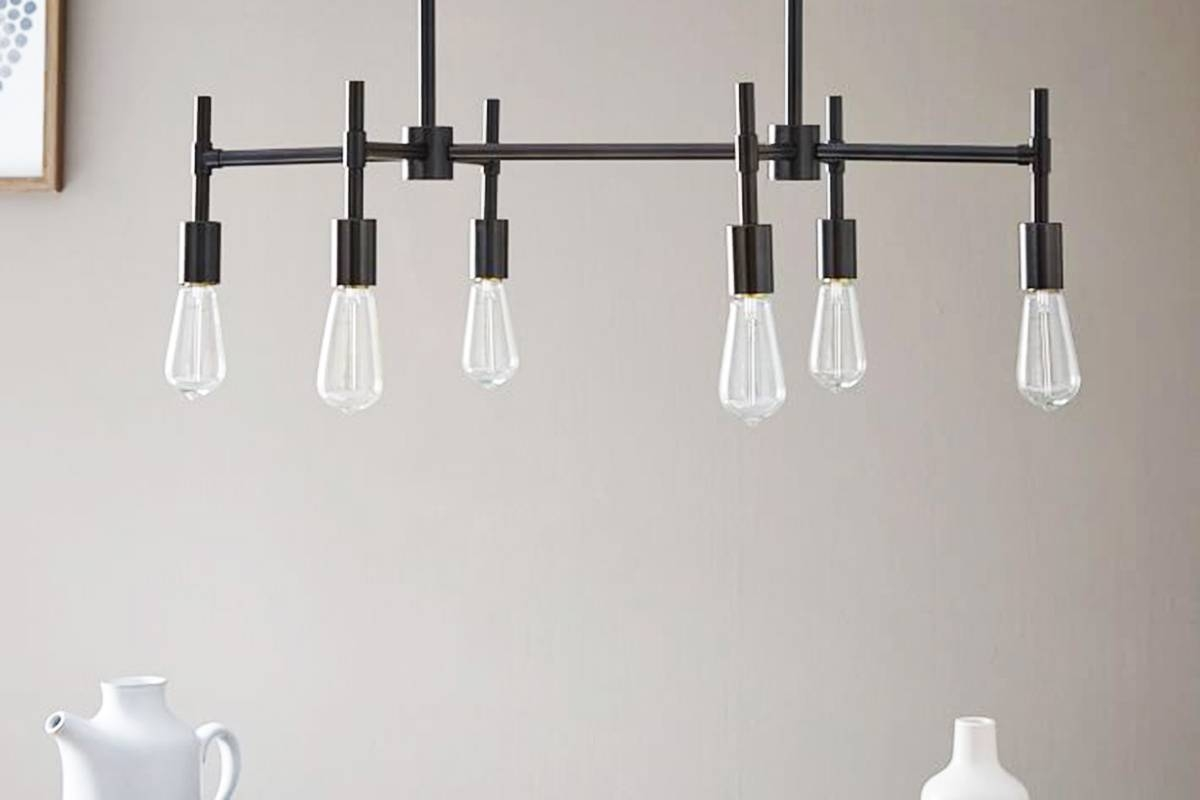 8 Amazing Industrial Chandelier Lights For Your Home with West Elm Bathroom Pendant Lights (Image 3 of 15)