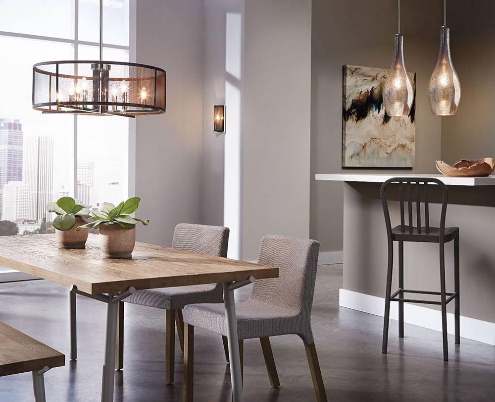 8 Light Pendant Chandelier – Tendr Inside Paxton Glass 8 Light Pendants (Photo 10 of 15)