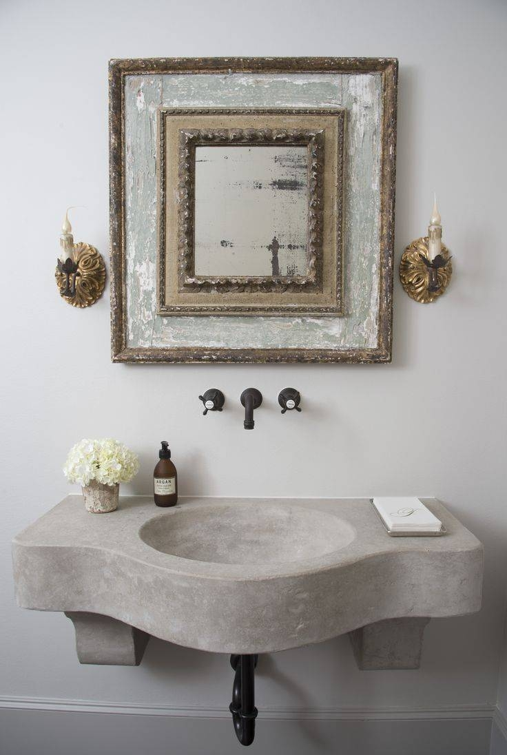 80 Best Espejos Images On Pinterest | Mosaic Mirrors, Mirrors And throughout Antique Mirrors For Bathrooms (Image 2 of 15)