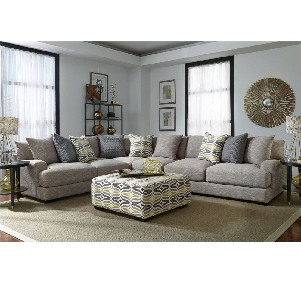 808 Barton Stationary Sectional   Franklin Furniture Product For Franklin Sectional Sofas (Photo 7 of 15)