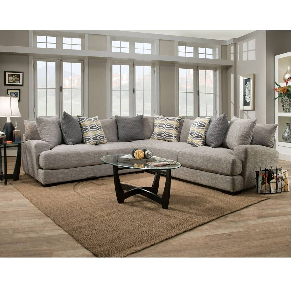 808 Barton Stationary Sectional   Franklin Furniture Product Regarding Franklin Sectional Sofas (Photo 1 of 15)