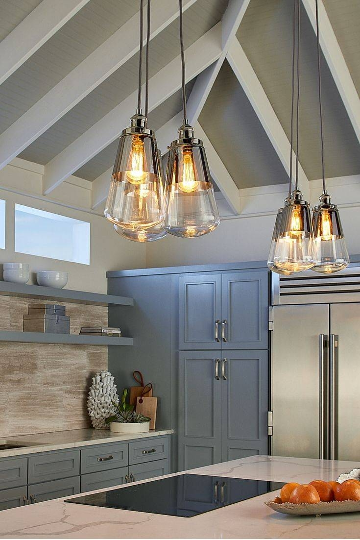 9 Best Lighting Images On Pinterest | Kitchen Island Lighting inside Paxton Glass 8 Light Pendants (Image 5 of 15)