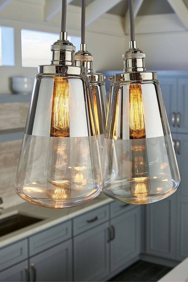9 Best Lighting Images On Pinterest | Kitchen Island Lighting within Paxton Glass 8 Light Pendants (Image 6 of 15)