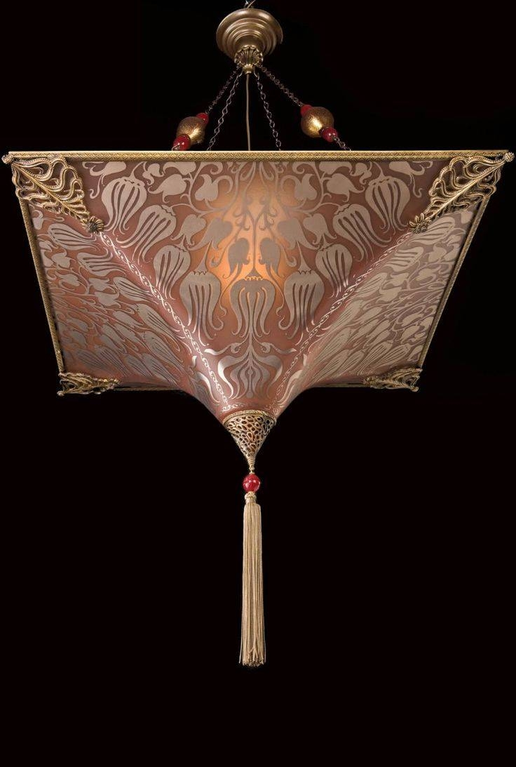 90 Best Fortuny Lamps Images On Pinterest | Chandeliers, Venice within Venetian Glass Ceiling Lights (Image 3 of 15)