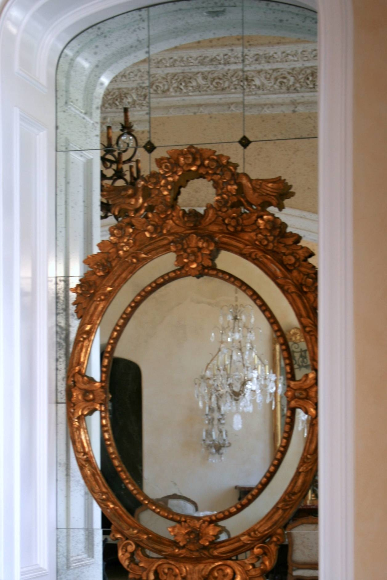 A & D Glass - Antique Mirrors in French Vintage Mirrors (Image 7 of 15)
