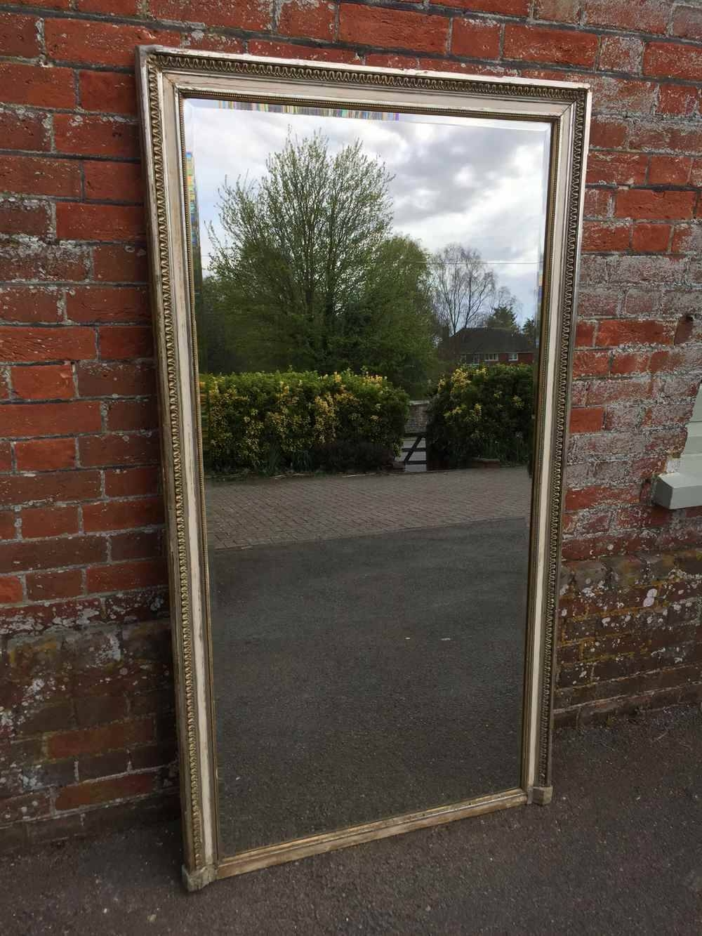 A Large Very Useful Antique 19Th Century French Carved Wood with regard to Very Large Mirrors (Image 2 of 15)