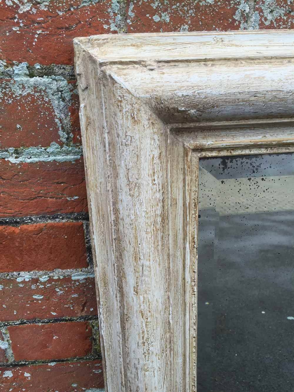Featured Photo of Distressed Cream Mirrors
