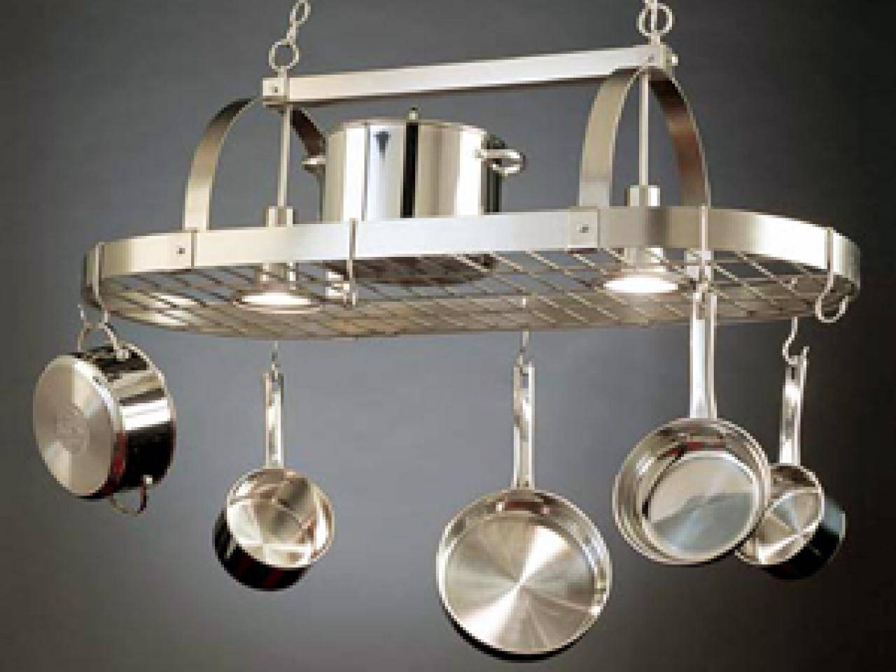 Featured Photo of Kitchen Pendant Lights With Pot Rack