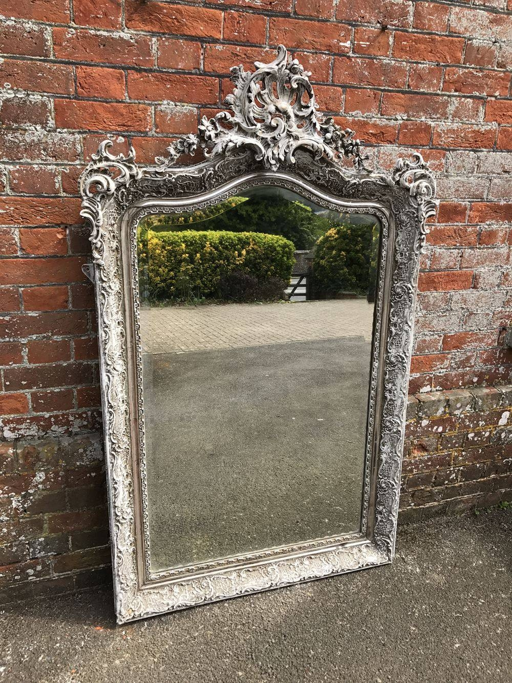 A Stunning Large Antique 19Th Century French Highly Decorative with regard to Antique French Mirrors (Image 3 of 15)