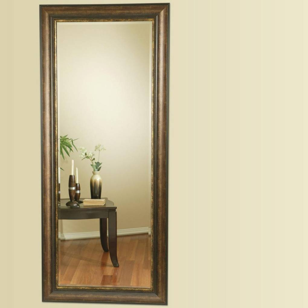 Accent Mirrors Long Floor Mirror | Mirrors regarding Long Mirrors for Hallway (Image 2 of 15)