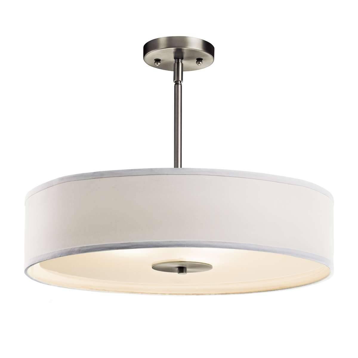 Accessories : Drum Pendant Lighting Drum Pendant Light Fixture within Black Drum Pendant Lights (Image 2 of 15)