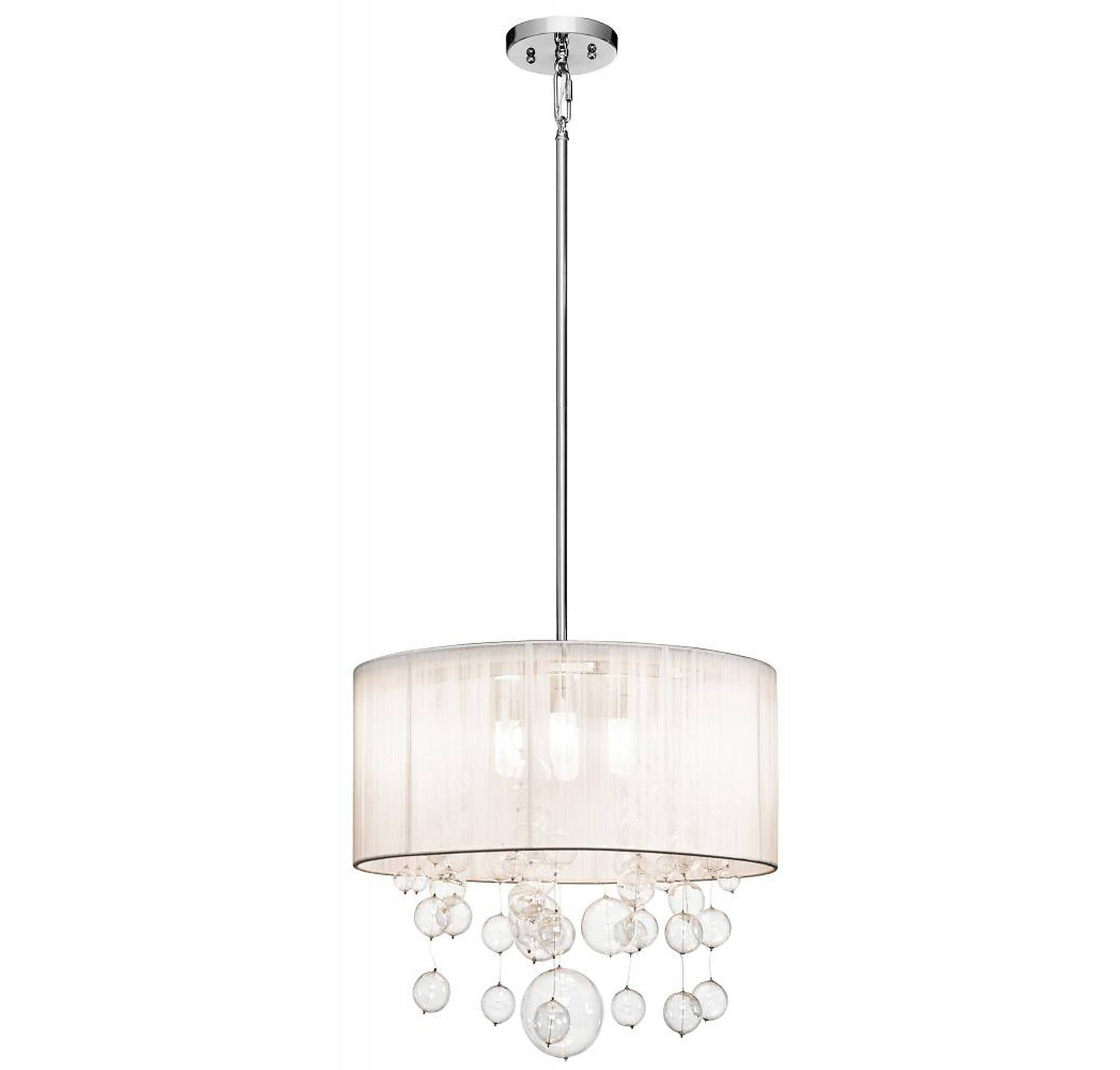 Accessories : Drum Pendant Lighting Oversized Drum Pendant Light with regard to Red Drum Pendants (Image 6 of 15)