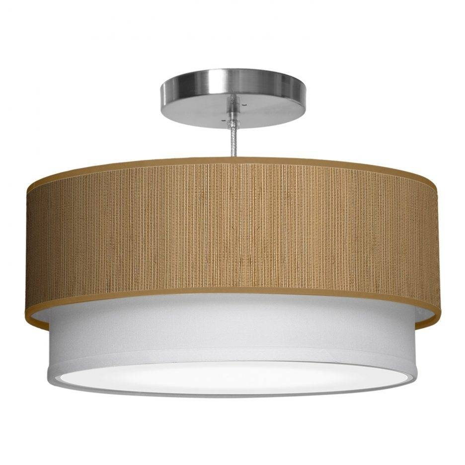 Accessories : Drum Pendant Lighting Pendant Lighting With Drum throughout Barrel Pendant Lights (Image 3 of 15)