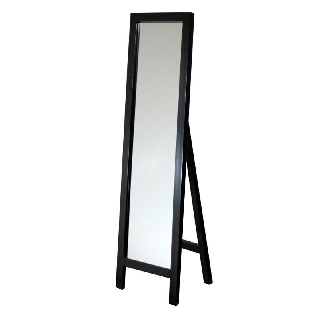 Popular Photo of Free Standing Black Mirrors