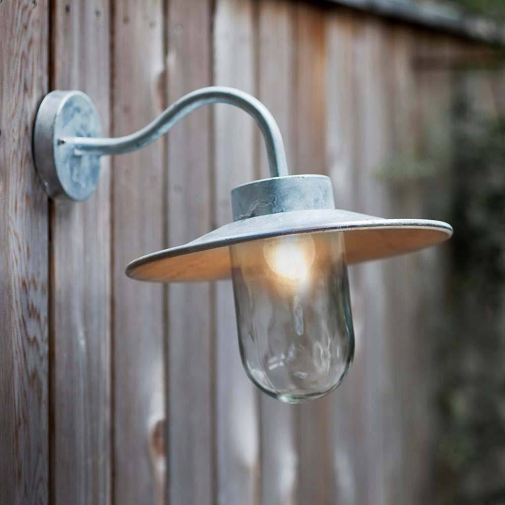 Accessories: Foxy Home Exterior And Front Porch Decoration Using in Barn Lights Uk (Image 3 of 15)