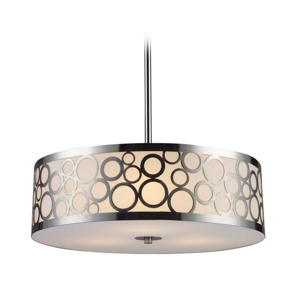 Accessories : Pendant Drum Lamp Drum Pendant With Crystals Drum regarding Barrel Pendant Lights (Image 5 of 15)