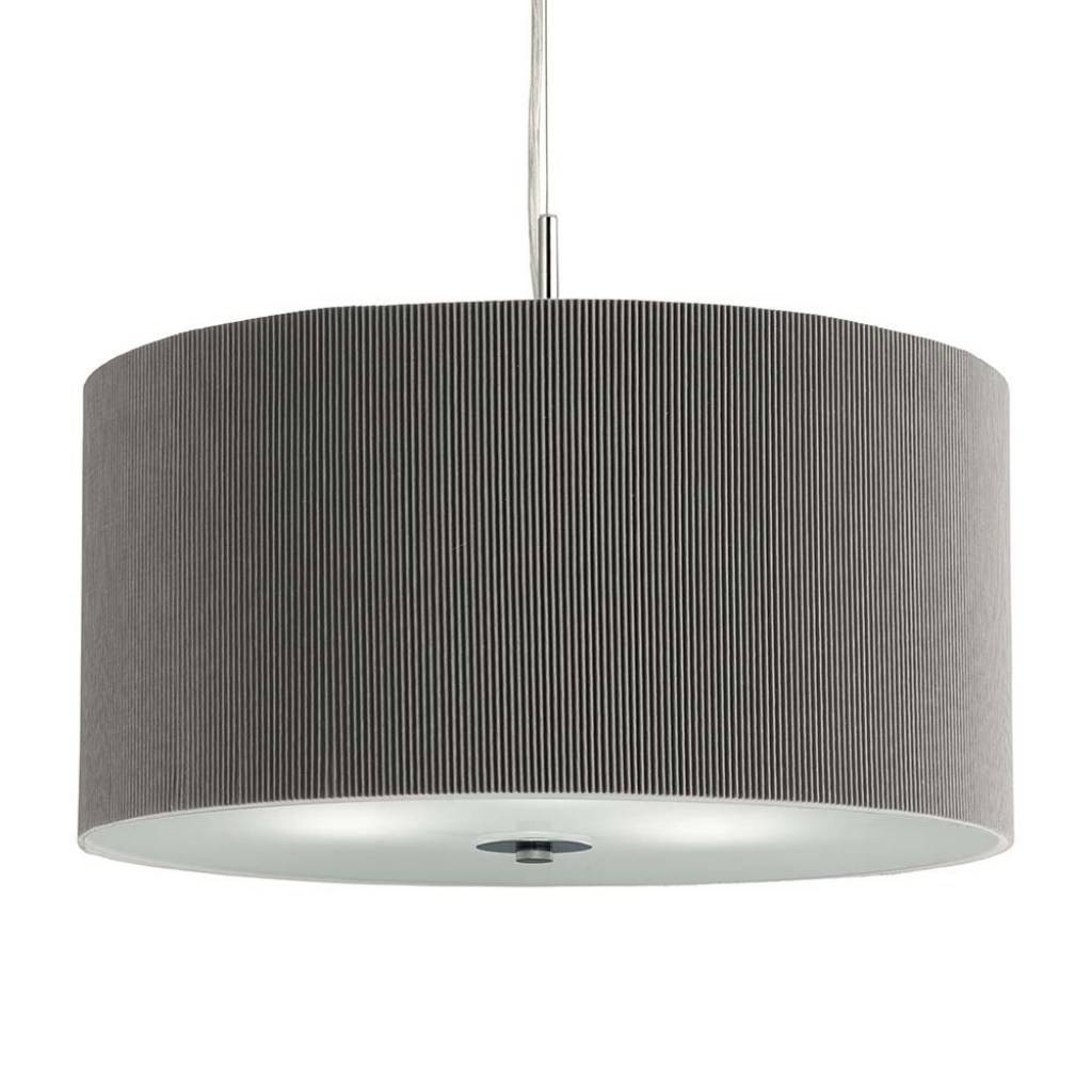 Accessories : Red Drum Pendant Light Brushed Nickel Drum Pendant with regard to Red Drum Pendants (Image 8 of 15)