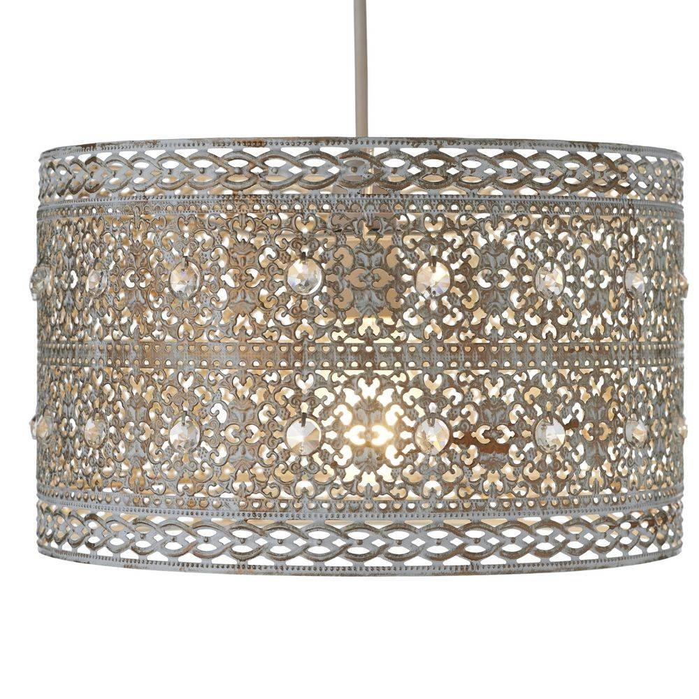 Adding Beauty And Decor To Your House With The Gold Ceiling Light Intended For Moroccan Style Lights Shades (Photo 6 of 15)
