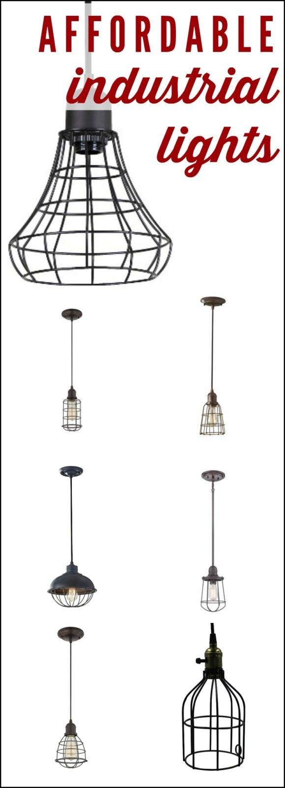 Affordable Industrial Pendant Lighting within Threshold Industrial Pendants (Image 8 of 15)