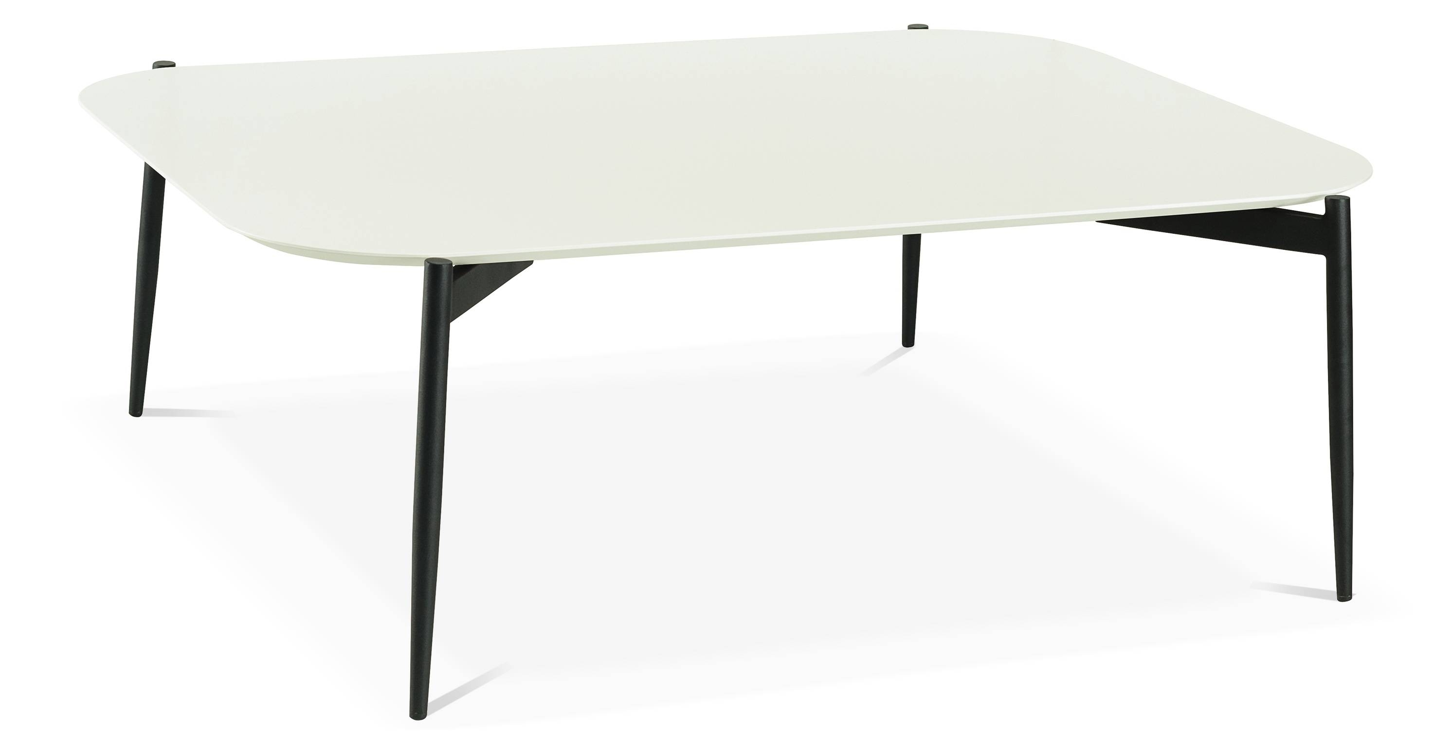 Alec High Coffee Table, White Fern & Grey in High Coffee Tables (Image 2 of 15)
