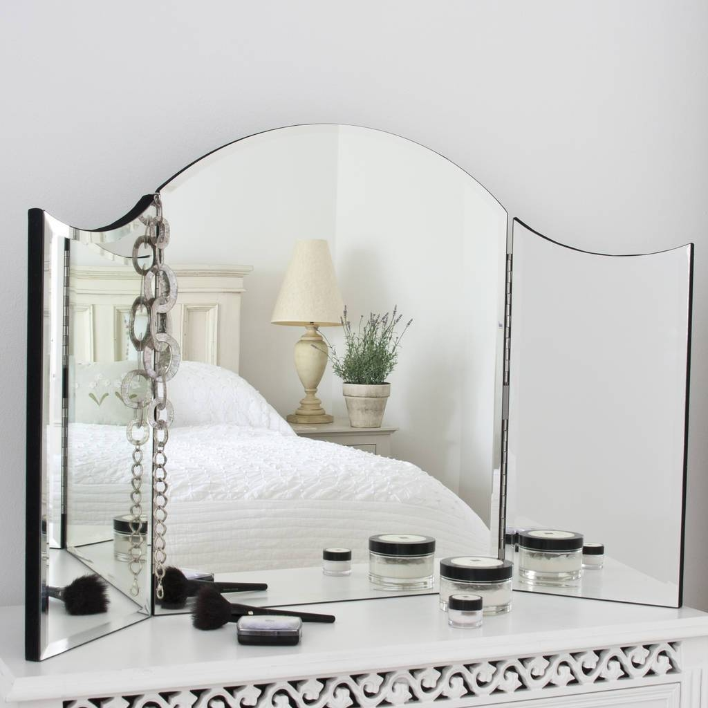 Alexa Plain Venetian Dressing Table Mirrordecorative Mirrors throughout Venetian Dressing Table Mirrors (Image 1 of 15)
