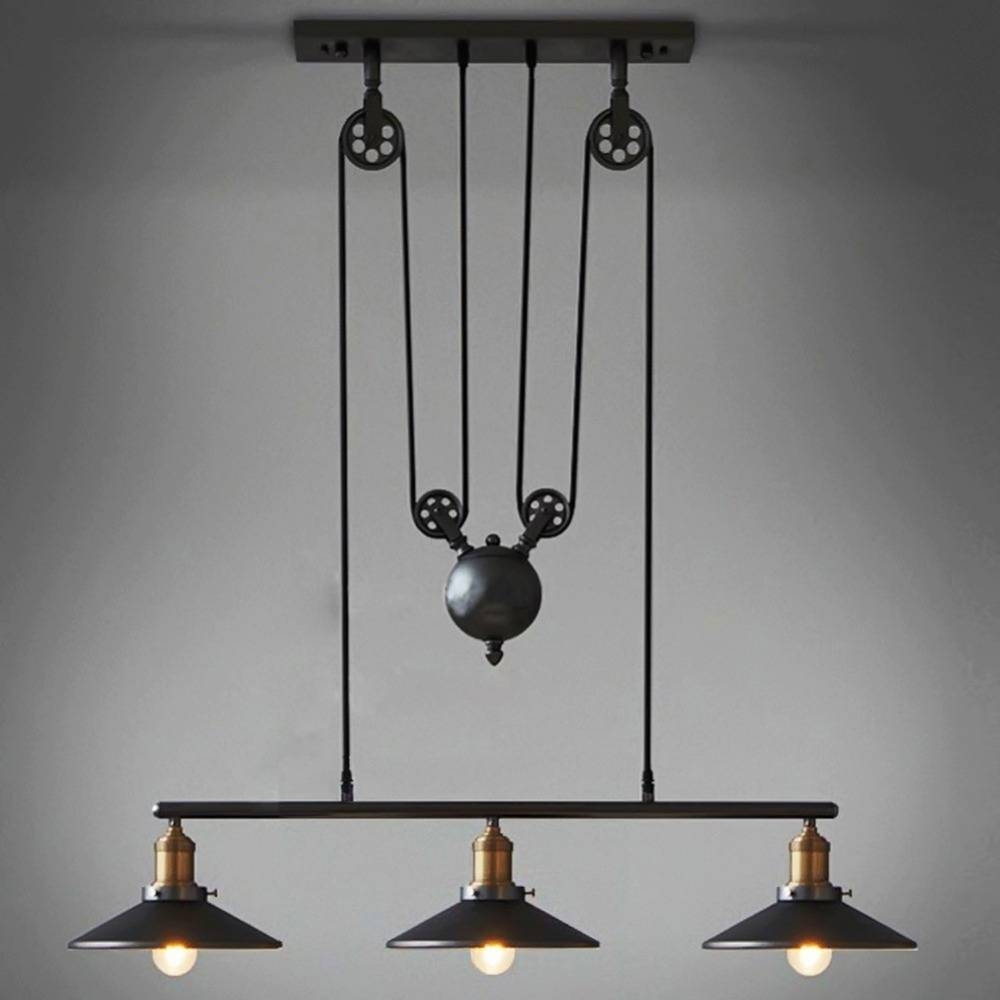 Featured Photo of Pulley Pendant Lights