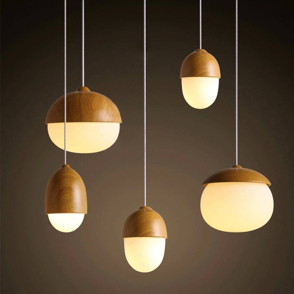 Aliexpress : Buy Modern Diy Decorative Pendant Light Nut Egg pertaining to Diy Multi Pendant Lights (Image 2 of 15)