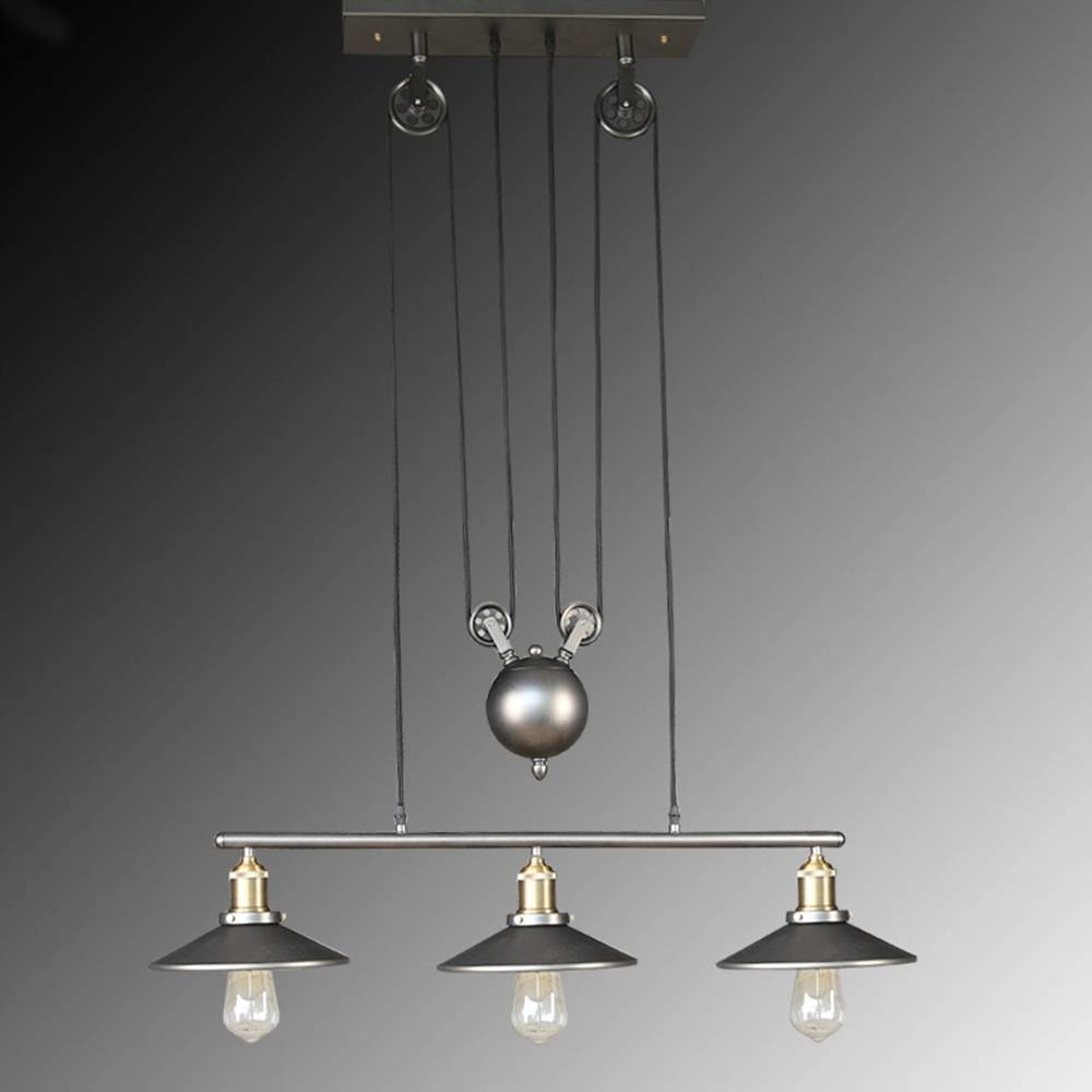 Aliexpress : Buy Nordic Vintage Industrial Celling Lights for Pulley Pendant Lights (Image 5 of 15)