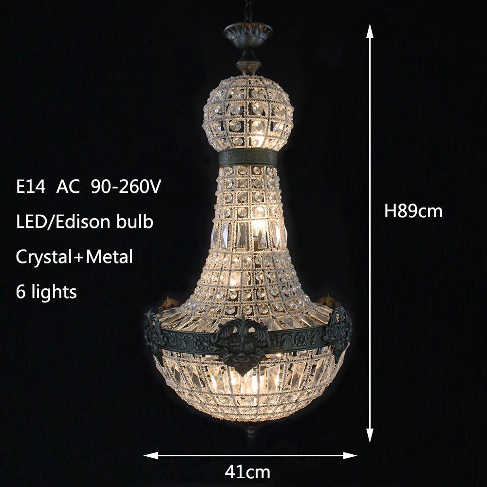Aliexpress : Buy Retro Vintage Charming Royal French Empire with French Style Lights (Image 2 of 15)