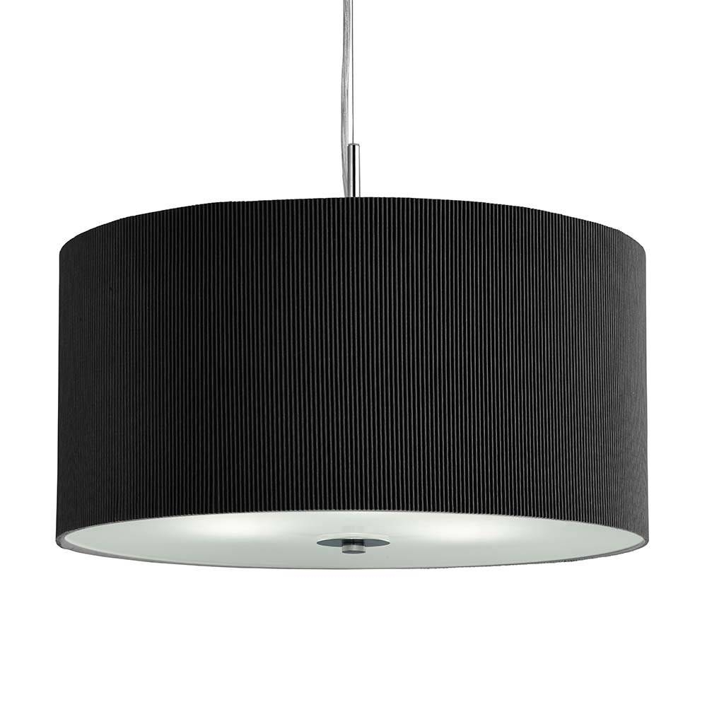 Amazing Black Drum Pendant Light 75 In Yellow Pendant Light With throughout Black Drum Pendants (Image 2 of 15)