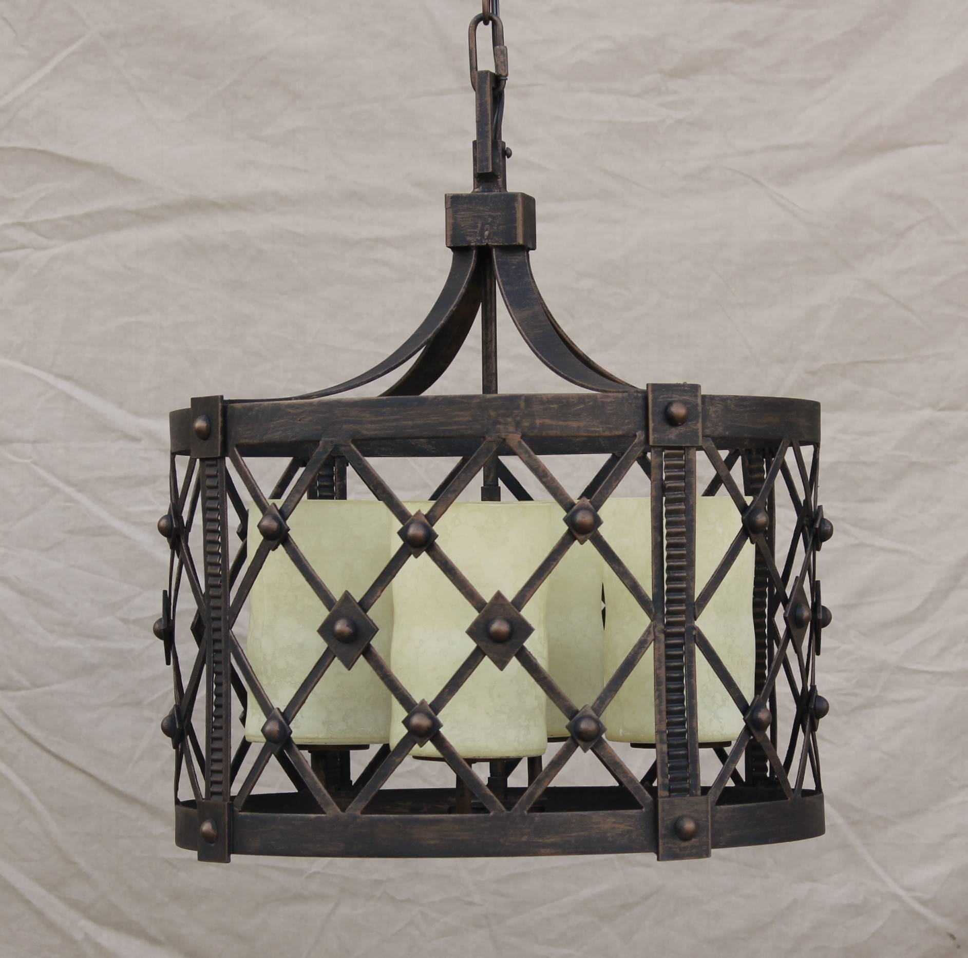 Amazing Of Wrought Iron Pendant Light Related To House Decor for Wrought Iron Lights Fixtures For Kitchens (Image 5 of 15)