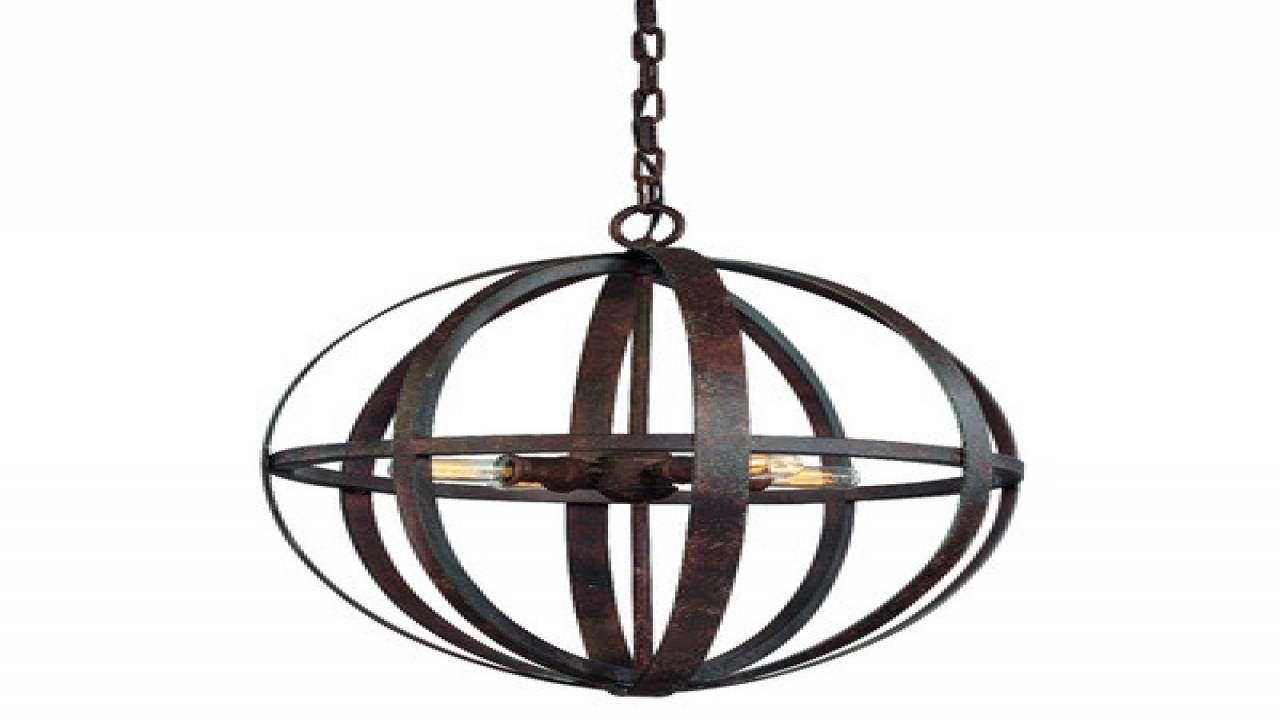 Amazing Of Wrought Iron Pendant Light Related To House Decor With Wrought Iron Kitchen Lights Fixtures (View 6 of 15)