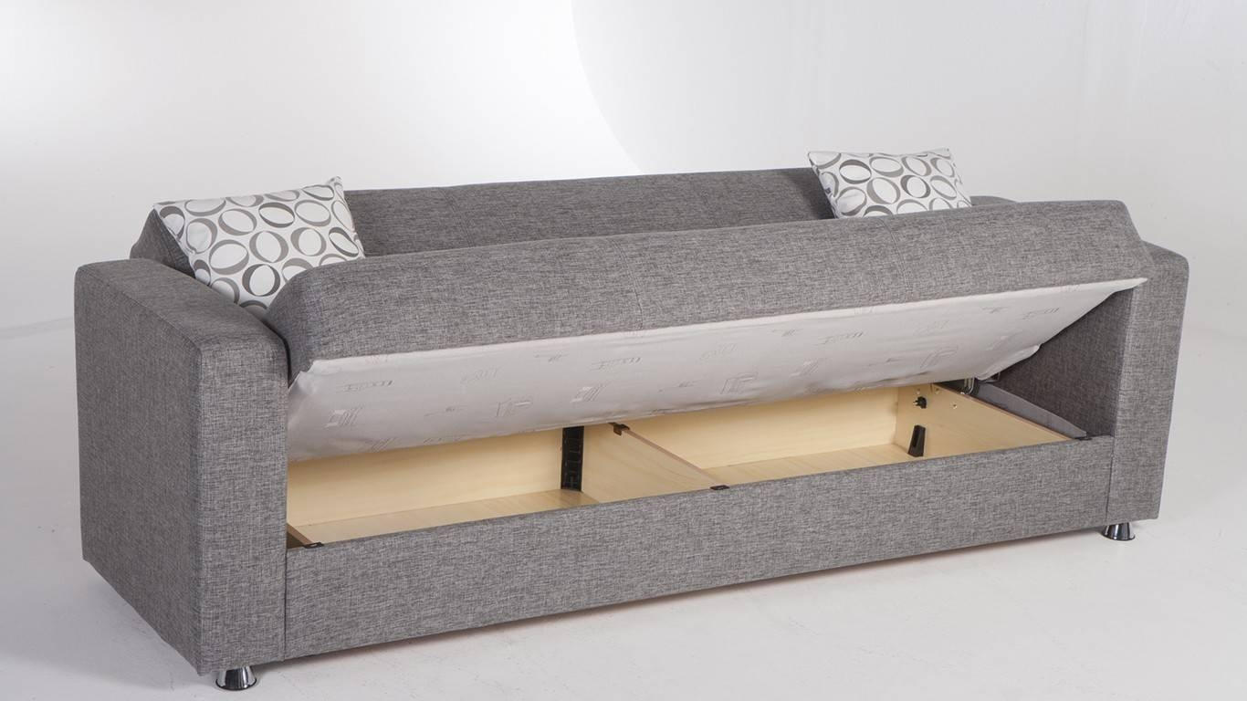 Amazing Sofa Beds With Storage Space 16 With Additional Leather For Sofa Beds With Storage Underneath (View 10 of 15)