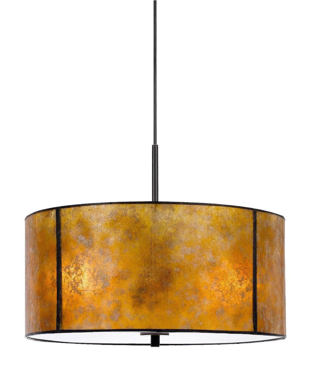 Amber Mica Drum Pendant Light Plug In | Lamp Shade Pro pertaining to Rectangular Drum Pendant Lights (Image 5 of 15)