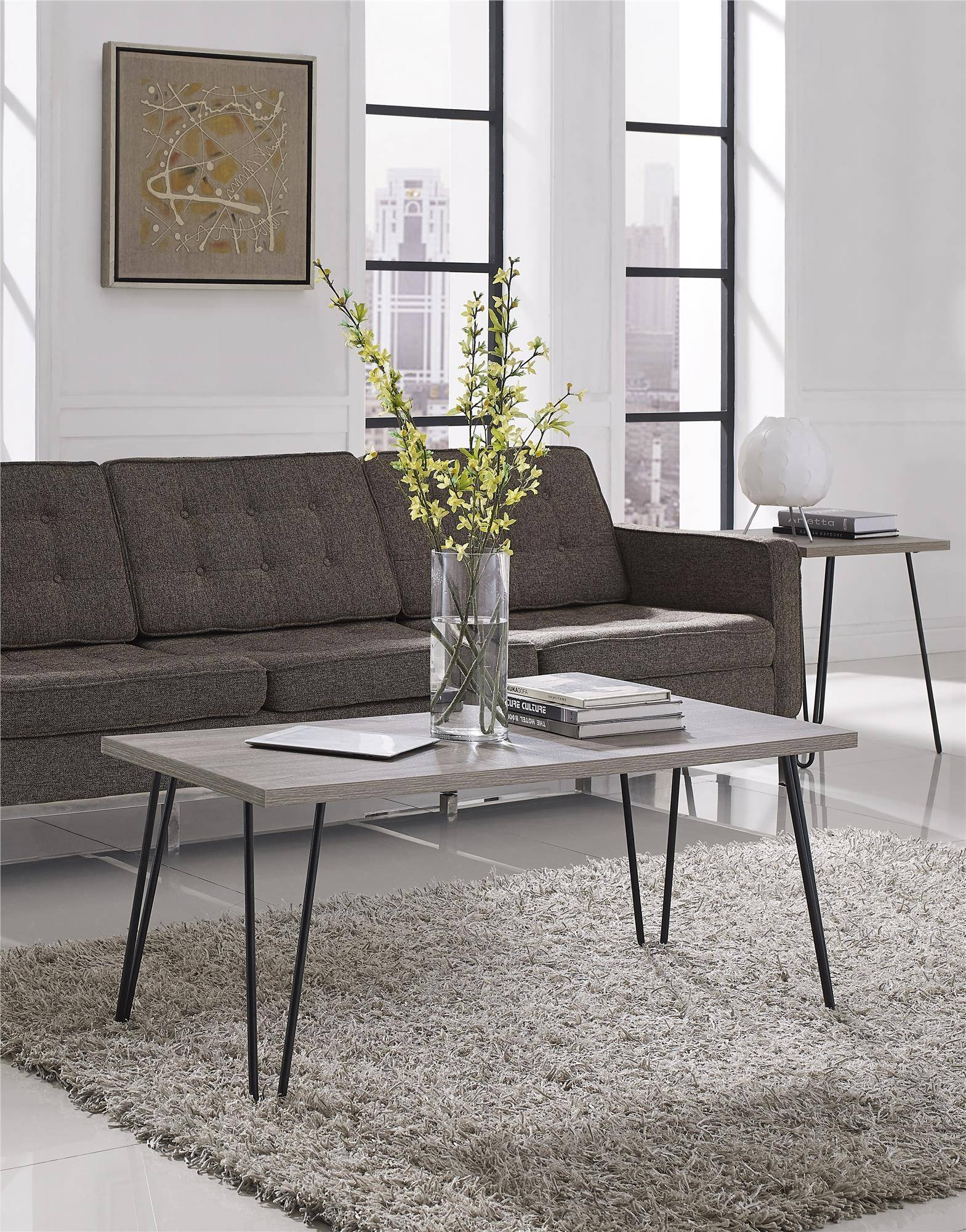 Ameriwood Furniture | Altra Furniture Owen Retro Coffee Table in Retro Oak Coffee Tables (Image 1 of 15)