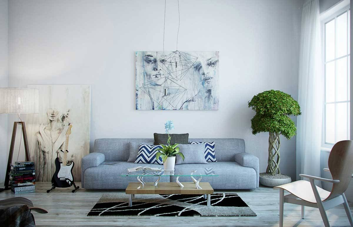 Amusing 25+ Light Blue Gray Living Room Inspiration Of Best 25+ throughout Blue Gray Sofas (Image 2 of 15)