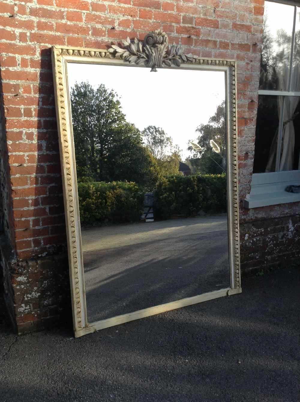 An Absolutely Stunning Extra Large 19Th Century French Carved Wood for Very Large Mirrors (Image 5 of 15)
