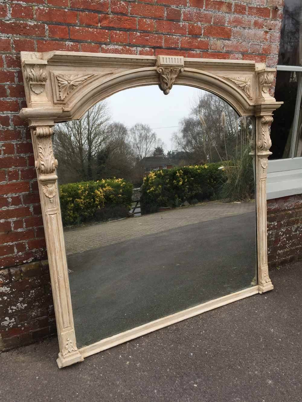 An Absolutely Stunning Very Large Antique 19Th Century English intended for Very Large Mirrors (Image 6 of 15)